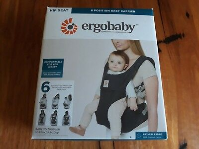 Ergobaby baby carrier 6 positionhip seat - perfect condition