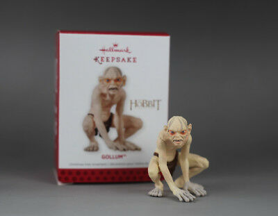 Hallmark Keepsake Gollum Figure The Hobbit Christmas Tree Ornament