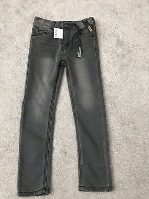 Boys Grey Black Jeans From Next Age 7. BNWT RRP£16