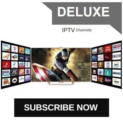 VIP IPTV SUBSCRIPTION 1-12 Months - 6500 + LiveTV + VOD + PPV No Glitch HD UHD