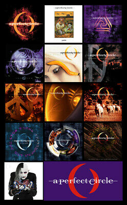 "A PERFECT CIRCLE album discography magnet (3"" X 4.5"") Tool, Smashing Pumpkins"