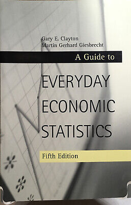 A Guide to Everyday Economic Statistics 2000 by Clayton, Gary E; Gies 0072430362