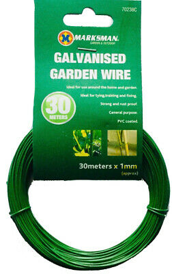 Multi Purpose Green Garden Wire 1mm x 30m