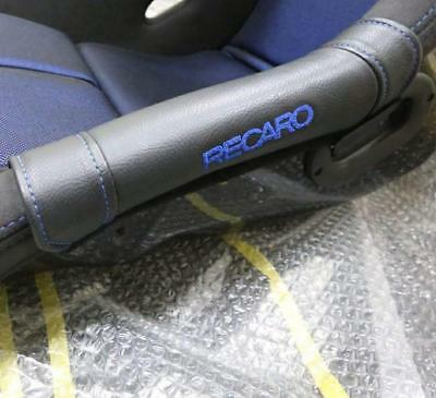 Recaro side protectors blue stitch limited for full bucket seat Recaro spg ..