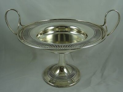 LARGE, solid silver FRUIT BOWL, 1905, 803gm - Mappin & Webb