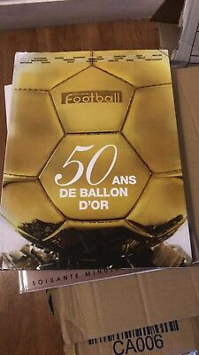 Livre Book France Football 50 Ans Du Ballon D'or