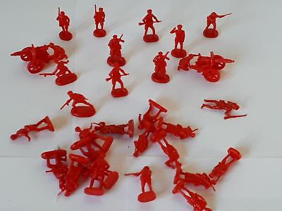 Atlantic WWII Set 84 Red Army Soldiers Russische Infanterie MG Soldaten 1:72 29x