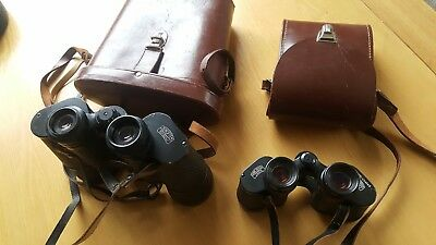 carl zeiss binoculars 10x50 and 8 x30 two pairs