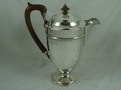SMART solid silver JUG, 1928, 713gm