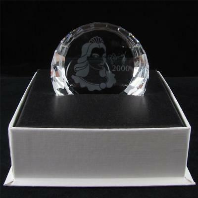 "SWAROVSKI Crystal ""2000 SCS COLUMBINE PAPERWEIGHT"" Mint in Box."