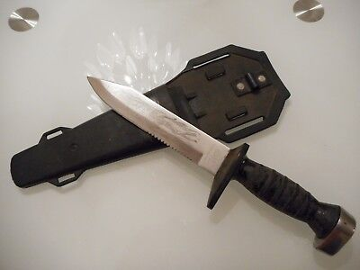 Othello Taucher Messer Play Right Skin Diver Knife Deepsea Tested Selten Messer