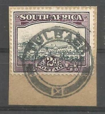 Union of South Africa Postmark Tulbagh Cape on small piece