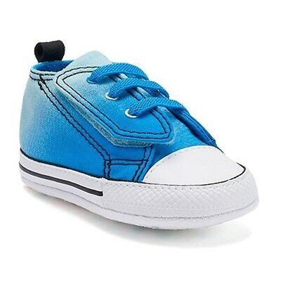 74bf0b1df469 CONVERSE FIRST STAR Chuck Taylor Crib Baby New Born Soft Sole Shoes ...