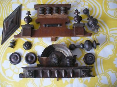 Antique Clock Wooden Decorations