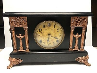 Vintage Sessions Mantle Clock - For Repair Or Parts