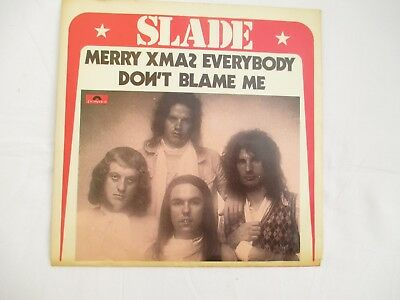"SLADE - "" MERRY XMAS EVERYBODY ""   Single - Made in Holland   1991"