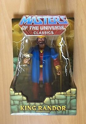 King Randor Eternos Palace (Filmation) Masters Of The Universe Classics MOC