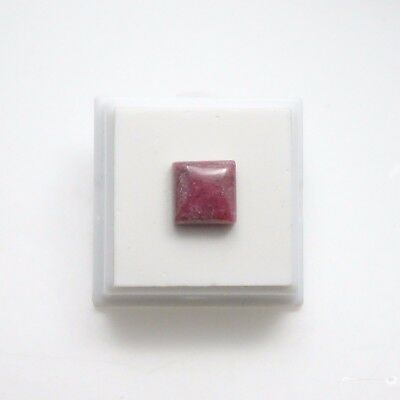 Beautiful Rhodonite 10mm Square Cabochon - Rhodonite Cabochon