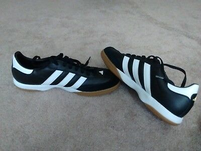 cc27014b299c22 84d2c e7aae  usa adidas samba millenium indoor soccer shoes mens size 13  black with white trim 85a65 8e507