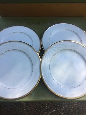 4 Fitz And Floyd Classique d'Or Plates