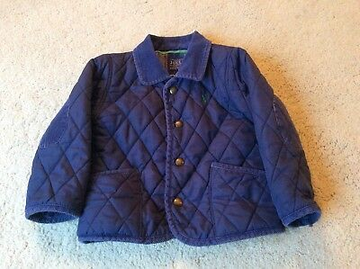 Joules toddler Boys Milford Quilted Coat Jacket 18-24 Months