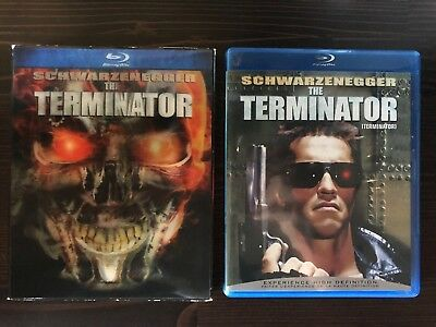 THE TERMINATOR (JAMES CAMERON (BLU-RAY With Rare Lenticular Slipcover)