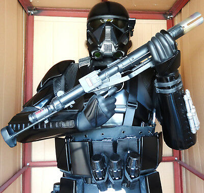 Anovos Star Wars Rogue One 1:1 Scale Death Trooper Stormtrooper Statue Figure
