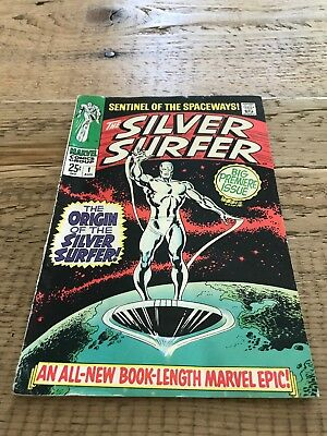 The SILVER SURFER #1 1968