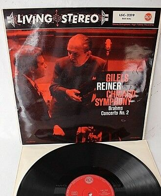 Gilels/Reiner,Brahms - Piano Concerto No.2, RCA Stereo, LP,  M-