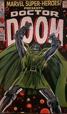 Marvel Super-Heroes Presents Doctor Doom #20, 1st Solo Story, Silver Age 1969