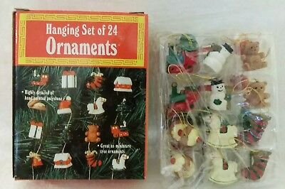 Doll House 1:12 Miniature Christmas Mercury Glass Style Tree Toppers Concave