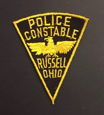 City of Russell, Ohio Police Patch Constable