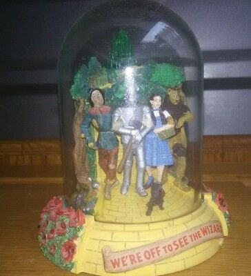 Wizard of OZ figurines / snow globe display piece