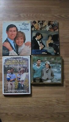 Lot 4 Books Royal Prince Charles Princess Diana Duchess York