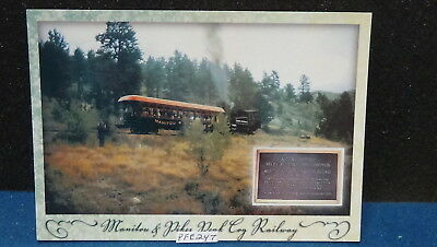 Continental Manitou and Pikes Peak Cog Railway Colorado Springs Unposted