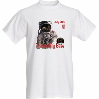 Celebrate the NASA 1969 Apollo 11 Moon Landing -'Tranquility Base' T-Shirt