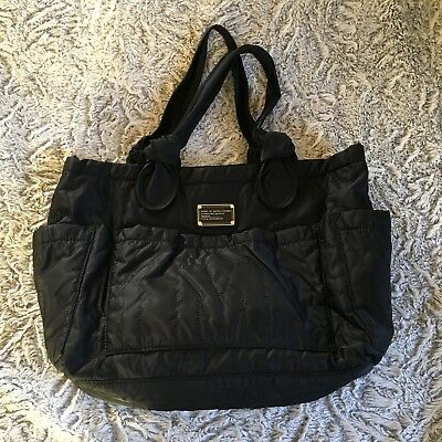deefc779293b Marc By Marc Jacobs Standard Supply Workwear Large Black Quilted Nylon Tote