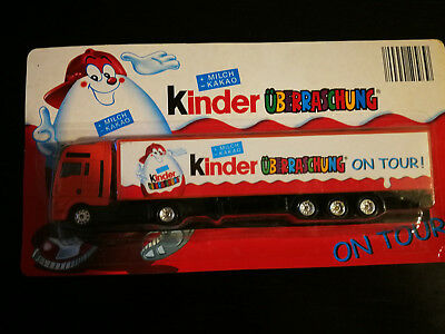 Camion Kinder Surprise Allemand