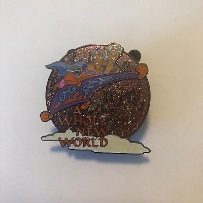 Disney Magical Musical Moments Pin #41 A Whole New World pink Aladdin