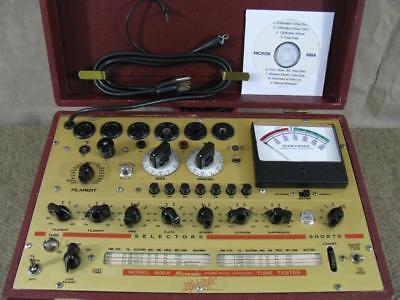 Hickok 600A Mutual Conductance Tube Tester - Calibrated - Near Perfect Specs *.*