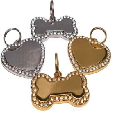 Diamante Pet Tags