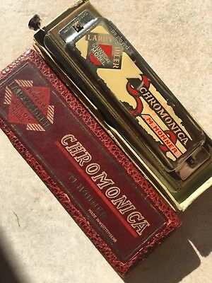 Hohner CHROMONICA 256C Junior Model 1933/39 OVP as played by Larry Adler