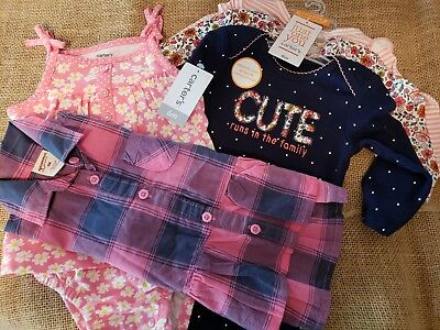 (NWT!) Baby Girl 6 Month Clothes Lot