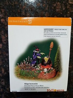 Department 56 Halloween Animated Hocus Pocus Witch Accessory