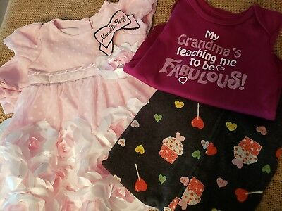 Baby Girl Clothes Set 3-6 Months Lot