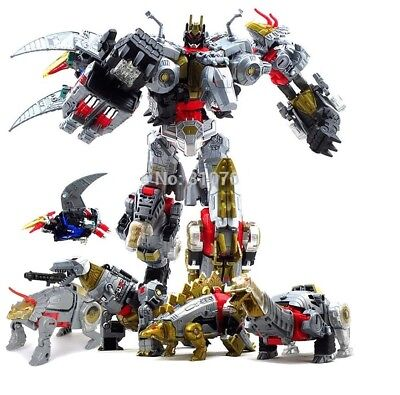 Dinobots transformers The Beast 5 in 1 action figure toy models combiner dinos