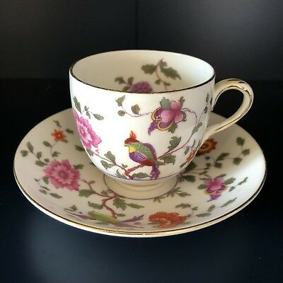 Gorgeous Crown Staffordshire Cup And Saucer