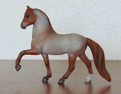 Breyer - Custom Peruvian Paso Stablemate - Red Roan - CM SM