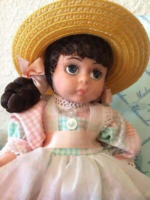 """Vintage Madame Alexander Doll MADCC 98 Companion Doll 8"""" in box. 79590"""