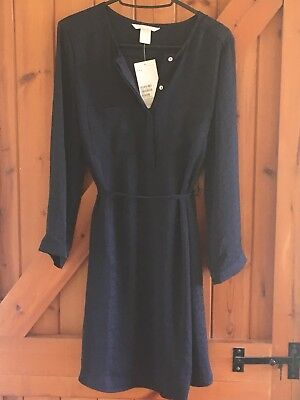 Brand New Maternity Mama From H&M, Navy Dress, Size Small